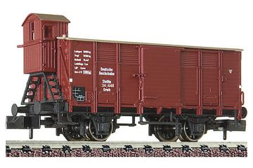 Covered goods wagon with brakeman's cab, type Gvwh