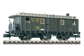 3 axled, train heating wagon, type Heiz 3i pr 04, of the DRG