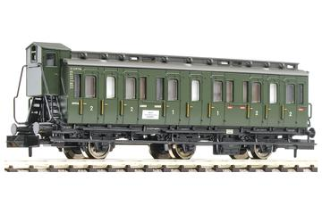 3 axled, 1st/2nd class compartment coach with brakeman's cab, type BC3 pr 03, of the DB.