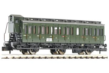 3 axled, compartment coach with brakeman's cab, type C3 pr 11, of the DB