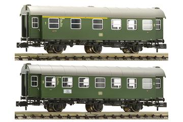 2 pc. set 2nd class conversion car and 1st/2nd class conversion car, DB