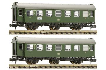 2 pc. set 2nd class conversion car, DB