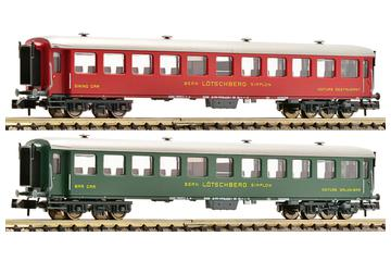 2 piece coach set, Swiss Classic Train