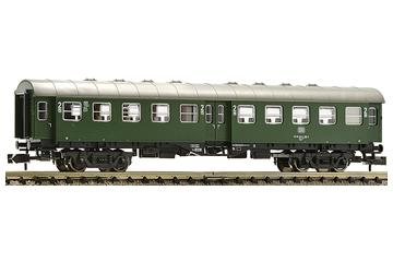 2nd class conversion car type Byg515 with goose neck bogies, DB