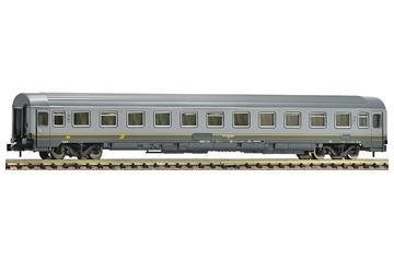 2nd class Eurofima wagon of the FS in grey livery