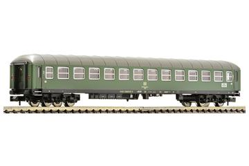 2nd class express coach type B4üm with tail lights, DB