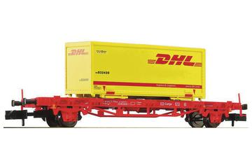 Set of container carrier wagons and Po