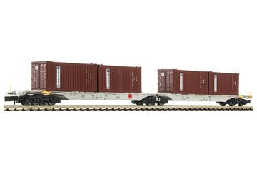 Container double wagon of the AAE