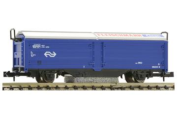 Sliding wall freight wagon for track cleaning, Railpro
