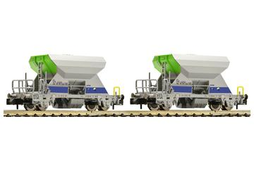2-piece set of ballast wagon, BLS